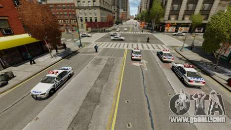 More police for GTA 4 second screenshot