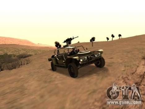 FAV from Battlefield 2 for GTA San Andreas