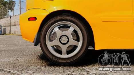 Daewoo Lanos Sport US 2001 for GTA 4 back view