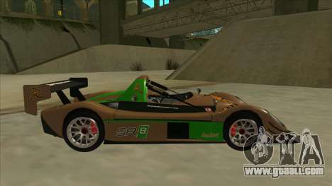 Radical SR8 RX for GTA San Andreas back left view