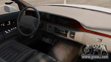 Chevrolet Caprice 1994 [ELS] for GTA 4 inner view