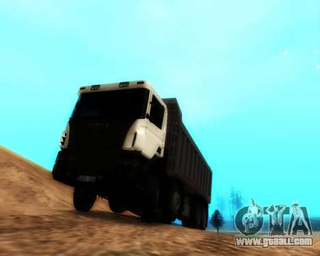 Scania P420 8X4 Dump Truck for GTA San Andreas left view