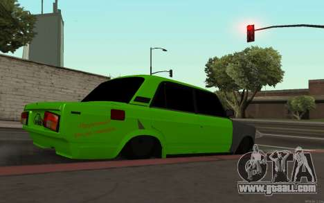VAZ 2105 Rogue for GTA San Andreas left view
