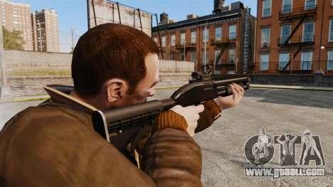 Tactical shotgun v2 for GTA 4 second screenshot