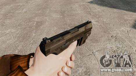 Walther P99 semi-automatic pistol v1 for GTA 4 second screenshot