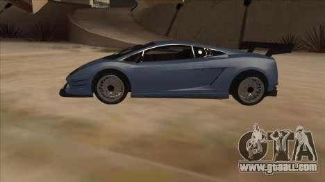 Lamborghini Gallardo LP560-4 Tuned for GTA San Andreas left view