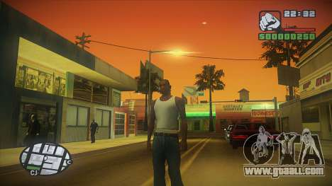 GTA HD Mod for GTA San Andreas third screenshot