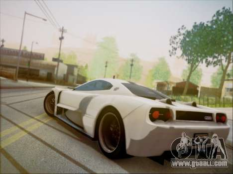 Joss JP1 2010 Supercar V1.0 for GTA San Andreas