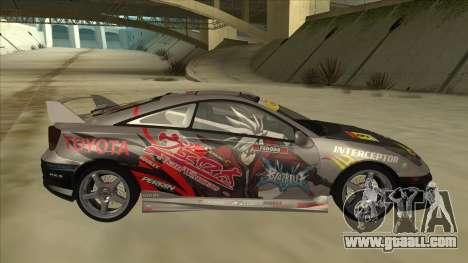 Toyota Celica ZZT231 Itasha for GTA San Andreas back left view