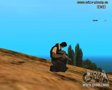 White Chrome Desert Eagle for GTA San Andreas