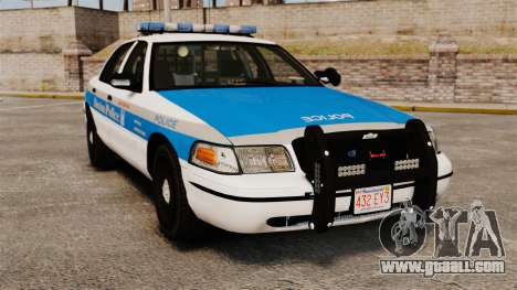 Ford Crown Victoria Police Massachusetts ELS for GTA 4