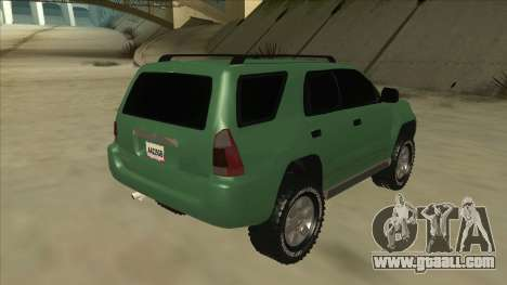 Toyota 4Runner 2009 v2 for GTA San Andreas right view