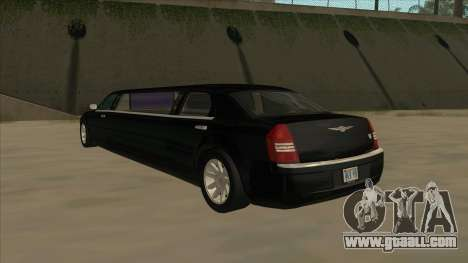 Chrysler 300C Limo 2006 for GTA San Andreas right view