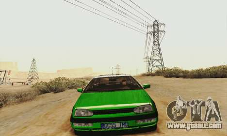 Volkswagen Golf Mk3 GTi 1997 for GTA San Andreas left view