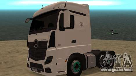 Mercedes-Benz Actros for GTA San Andreas