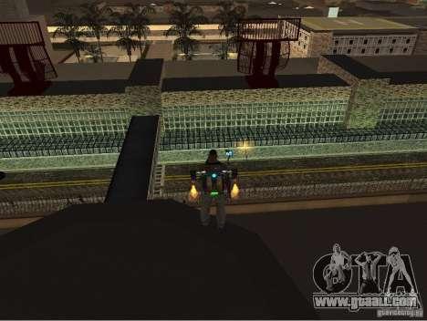 The new airport, Los Santos for GTA San Andreas third screenshot