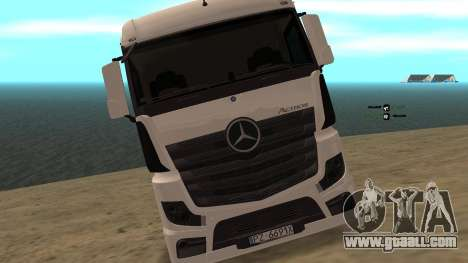 Mercedes-Benz Actros for GTA San Andreas right view