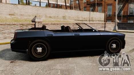 Buffalo limousine for GTA 4 left view