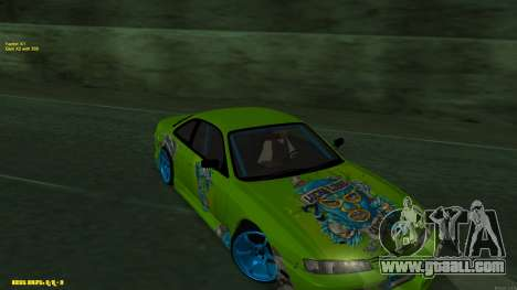 Nissan Silvia S14 CIAY for GTA San Andreas right view