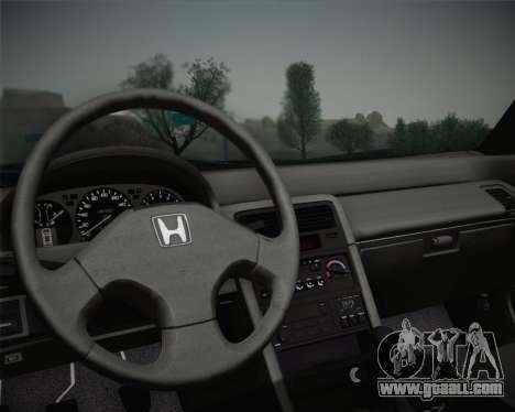 Honda CR-X 1991 for GTA San Andreas back view