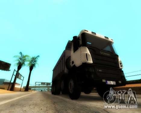 Scania P420 8X4 Dump Truck for GTA San Andreas