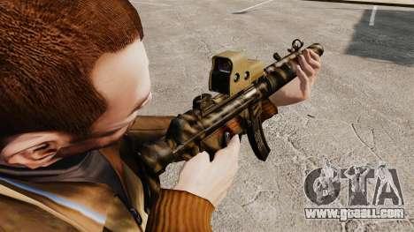 MP5SD submachine gun v3 for GTA 4 second screenshot