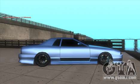 Elegy awesome D.edition for GTA San Andreas left view