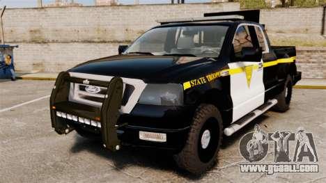 Ford F-150 v3.3 State Trooper [ELS & EPM] v2 for GTA 4