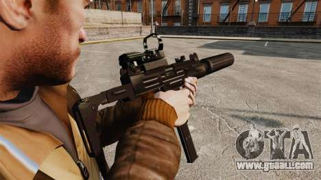 Tactical Uzi v2 for GTA 4