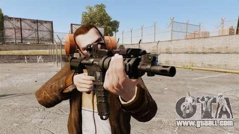 Tactical M4 v2 for GTA 4 third screenshot