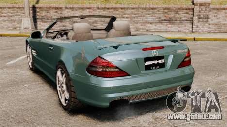 Mercedes-Benz SL65 2007 AMG v1.2 for GTA 4 back left view