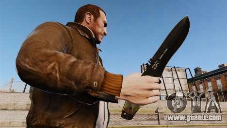 Tactical knife v4 for GTA 4