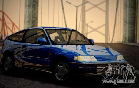 Honda CR-X 1991 for GTA San Andreas