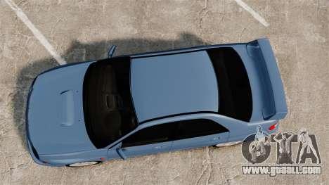 Subaru Impreza WRX 2001 for GTA 4 right view