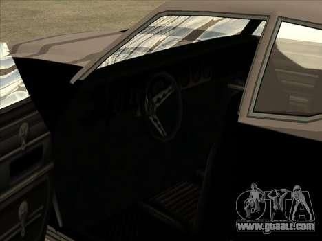 Remington for GTA San Andreas back view