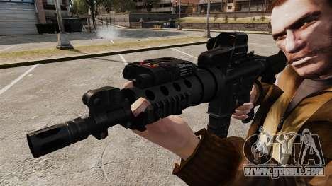 Tactical M4 v3 for GTA 4 forth screenshot