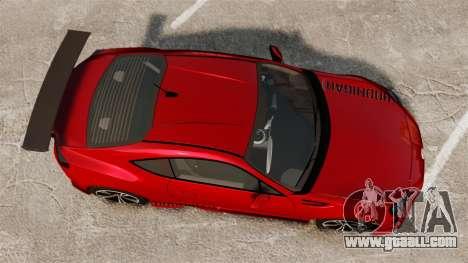 Subaru BRZ Rocket Bunny Aero Kit Hoonigan for GTA 4 right view