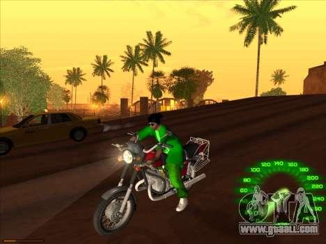 New skin Groove st. for GTA San Andreas forth screenshot