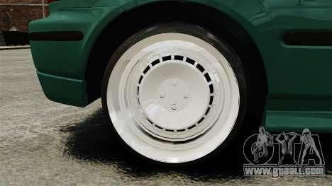 Honda Civic Al Sana for GTA 4 back view
