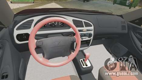 Daewoo Lanos Sport US 2001 for GTA 4 upper view