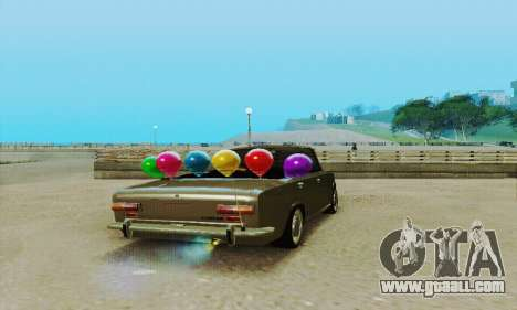 VAZ 2101 Convertible for GTA San Andreas back view