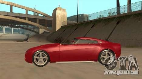 Melling Hellcat Custom for GTA San Andreas back left view