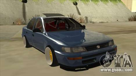 Toyota Corolla 1.6 1997 Hellaflush for GTA San Andreas