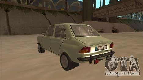 Zastava 1100 for GTA San Andreas back view