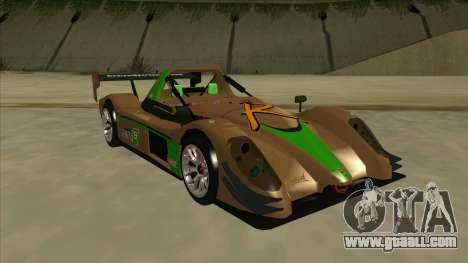 Radical SR8 RX for GTA San Andreas left view