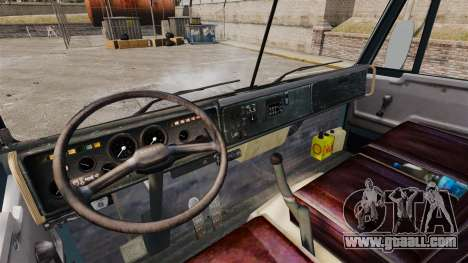 KAMAZ-53212 v1.4 for GTA 4 inner view