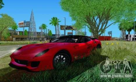 Ferrari 599xx for GTA San Andreas