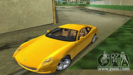 Ferrari 612 Scaglietti 2005 for GTA Vice City right view