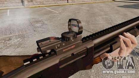 Tactical shotgun v2 for GTA 4 fifth screenshot