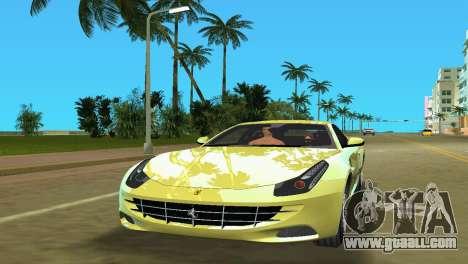 Ferrari FF 2011 for GTA Vice City left view
